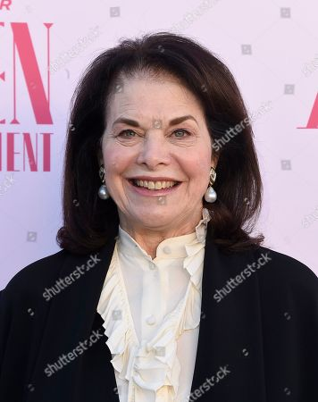 Sherry Lansing arrives at The Hollywood Reporter's Women in Entertainment Breakfast Gala, in Los Angeles
