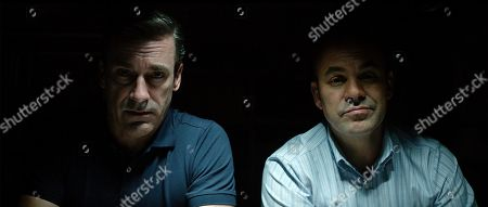 Stock Picture of Jon Hamm as Tom Shaw and Ian Gomez as Dan Bennet