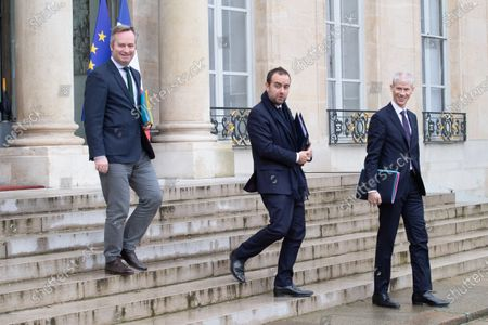 Editorial image of Weekly Cabinet Meeting, Elysee Palace, Paris, France - 11 Dec 2019