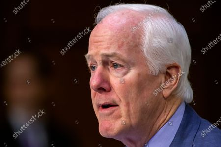 Republican Senator from Texas John Cornyn questions Justice Department Inspector General Michael Horowitz during testimony before the Senate Judiciary Committee hearing examining the Inspector General's report on alleged abuses of the Foreign Intelligence Surveillance Act (FISA), on Capitol Hill in Washington, DC, USA, 11 December 2019. The report issued by the Justice Department's watchdog states that the launch of the original FBI investigation into the 2016 Trump presidential campaign had a solid legal basis, contradicting Trump's claim his campaign was victim of a 'witch hunt'.