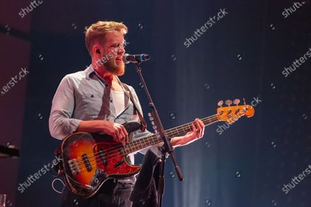 Stock Photo of Mumford & Sons - Ted Dwane