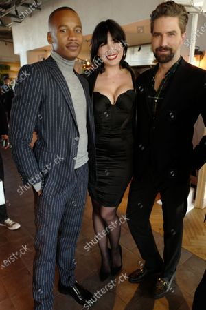 Daisy Lowe, Jack Guinness and guest