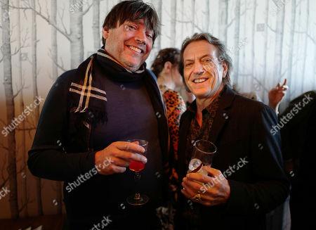 Alex James and Stephen Webster