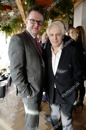 Stock Photo of Nick Rhodes and Ewan Enters
