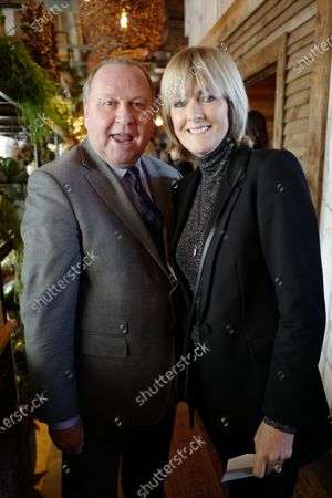 Editorial photo of GQ Christmas Lunch at The Treehouse, London, UK - 11 Dec 2019