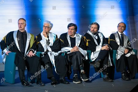 Editorial picture of Marco Bellocchio receives a Master's Degree in Television, Cinema and New Media from IULM University, Milan, Italy - 09 Dec 2019