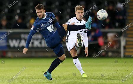 Editorial image of Swansea City v Blackburn Rovers - SkyBet Championship - 11 Dec 2019