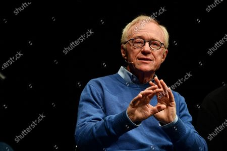 Editorial image of David Grossman presents his book in Genoa, Italy - 11 Dec 2019