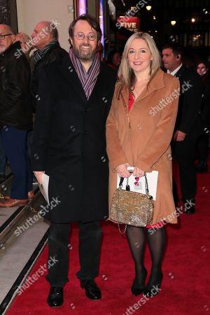 David Mitchell and Victoria Coren