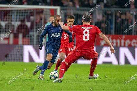 Editorial picture of 20191211 (GER) Football, UEFA Champions League, Matchday 6: FC Bayern Muenchen vs Tottenham Hotspur, Munich, Germany - 11 Dec 2019