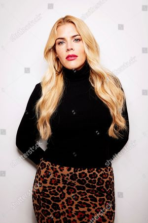 Editorial image of TRAVEL-BUSY PHILIPPS, New York, USA - 16 Oct 2018