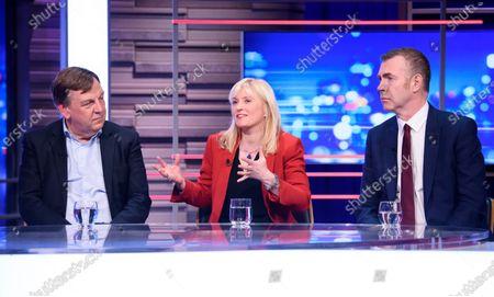John Whittingdale, Rosie Duffield and Adam Price