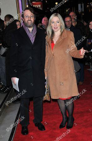 David Mitchell and Victoria Coren Mitchell