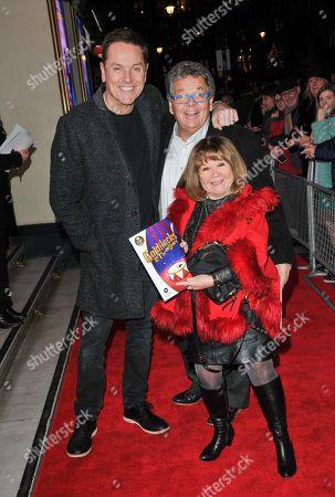 Brian Conley, Ian Tough and Janette Tough