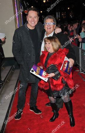 Brian Conley, Ian Tough and Janette Tough
