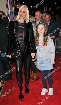 Denise Van Outen and Betsy Mead