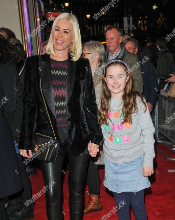 Stock Image of Denise Van Outen and Betsy Mead