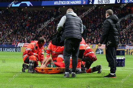 Vedran Corluka of Lokomotiv injuries