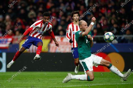 Thomas Lemar of Atletico Madrid