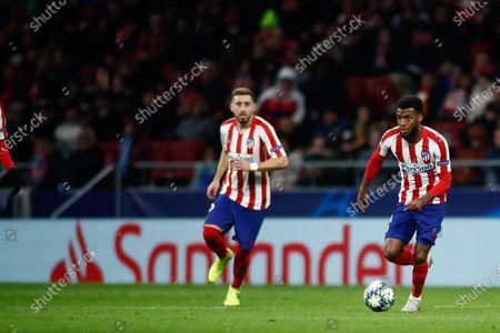 Stock Photo of Thomas Lemar of Atletico Madrid