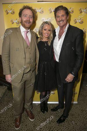 Adam Speers (Producer), Hayley Roberts Hasselhoff and David Hasselhoff (Franklin Hart Jr)