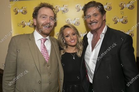 Stock Picture of Adam Speers (Producer), Hayley Roberts Hasselhoff and David Hasselhoff (Franklin Hart Jr)