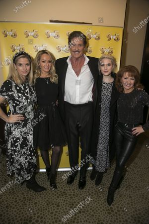 Editorial photo of '9 to 5 the Musical' party, Cast Change, London,  - 11 Dec 2019