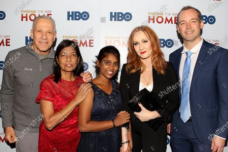Jon Alpert, Maria Fernandez, Livya Dsouza, J.K. Rowling and Matthew o'Neill