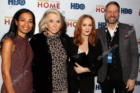 Jacqueline Glover, Sheila Nevins, J.K. Rowling and Bill Di Michelle