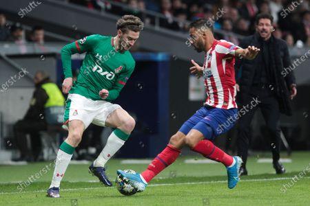 Editorial picture of Atletico Madrid v Lokomotiv Moscow, UEFA Champions League, Group D, Football, Wanda Metropolitano stadium, Madrid, Spain - 11 Dec 2019