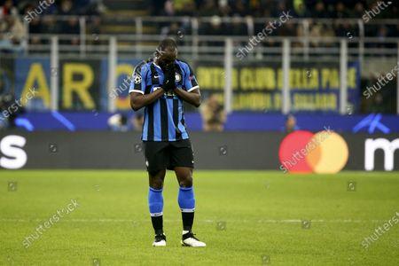 Stock Picture of Romelu Lukaku of Inter Milan