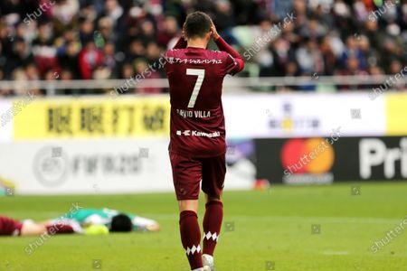 David Villa of Vissel Kobe