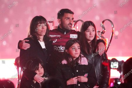 David Villa family