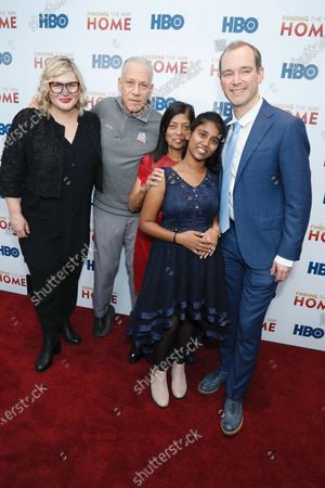Editorial image of 'Finding The Way Home' film premiere, Arrivals, Hudson Yards, New York, USA - 11 Dec 2019