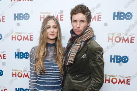 Stock Picture of Hannah Bagshawe and Eddie Redmayne