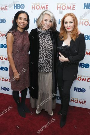 Jacqueline Glover, Sheila Nevins and J.K. Rowling