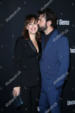 Stock Picture of Rosemarie DeWitt and Ron Livingston