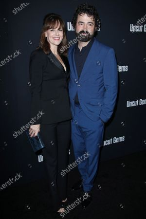 Stock Image of Rosemarie DeWitt and Ron Livingston