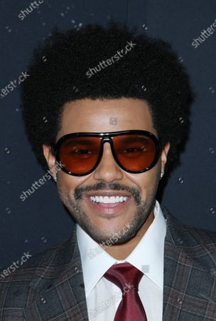 Stock Picture of The Weeknd