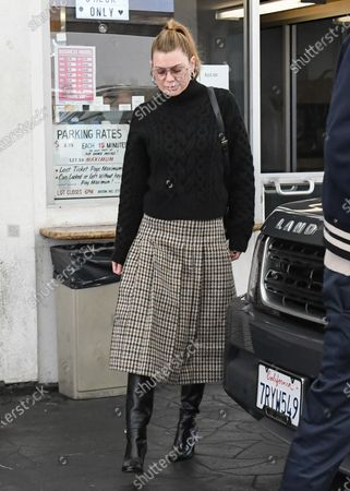Editorial picture of Ellen Pompeo and Chris Ivery out and about, Los Angeles, USA - 11 Dec 2019