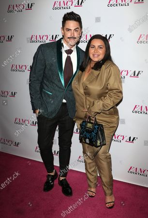 Stock Picture of Tom Sandoval and Mercedes Javid