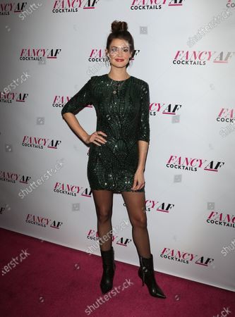 Editorial picture of Fancy AF Cocktails book premiere, Arrivals, Los Angeles, USA - 10 Dec 2019