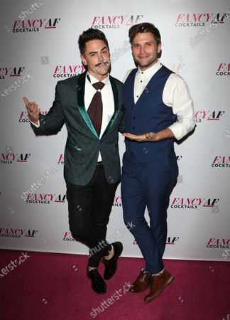Stock Photo of Tom Sandoval and Tom Schwartz