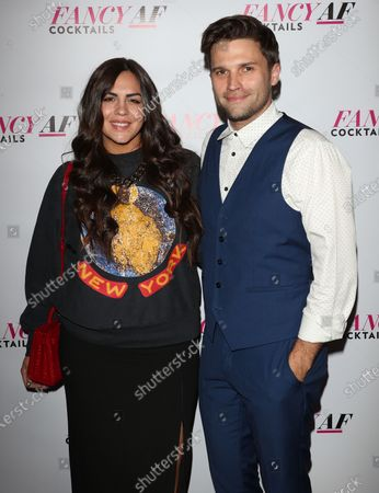 Stock Image of Katie Maloney and Tom Schwartz