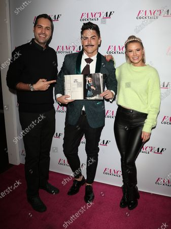 Danny Pellegrino, Tom Sandoval and Ariana Madix