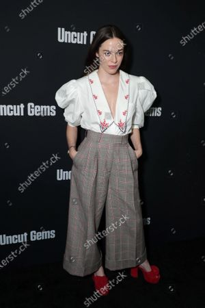 Editorial picture of A24's UNCUT GEMS Los Angeles Premiere, Arrivals, Los Angeles, USA - 11 Dec 2019