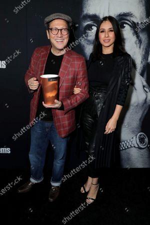 Stock Picture of Rob Schneider, Patricia Maya Schneider