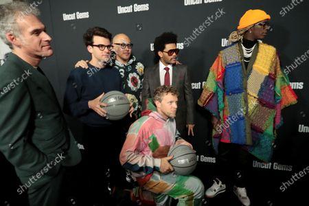 Ronald Bronstein, Writer, Eli Bush, Producer, Ben Baller, Sebastian Bear-McClard, Producer, The Weeknd, Young Thug