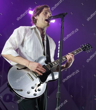 Luke Hemmings of the band 5 Seconds of Summer performs in concert during Q102's iHeartRadio Jingle Ball 2019 at the Wells Fargo Center, in Philadelphia