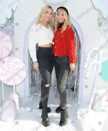 Stock Photo of Rydel Lynch and Kyla Laufer